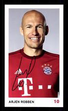 Arjen Robben Autogrammkarte Bayern München 2015-16 Original Signiert+ C 2271