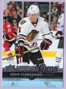 2014/15 Upper Deck Young Guns card# 481 of Adam Clendening