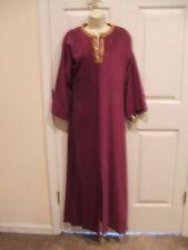 Never Worn vintage handmade velour caftan robe small/ med
