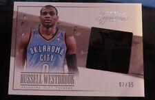 Russell Westbrook 2013-14 Panini Signatures Film- Oklahoma City Thunder 07/35