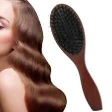 Outil à cheveux de brosse de massage de poils de sanglier antistatique Neuf