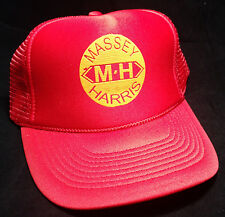 MASSEY HARRIS TRACTORS trucker snapback hat cap adjustable agriculture ferguson