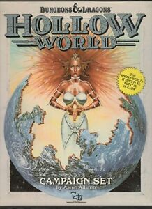 Hollow World Campaign Setting Dungeons & Dragons