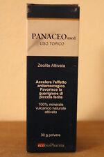 PANACEO MED - USO TOPICO zeolite attivata (30 g in polvere)