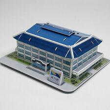TAEKWONDO Coin Bank Moneybox Korean Kukkiwon 3D Structure Puzzle 47pcs