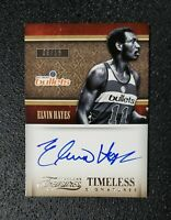 2013-14 Elvin Hayes ON CARD AUTO #'d 8/15 Panini TimelessTreasure