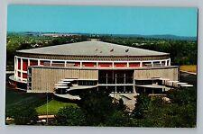 Bowling Green Western Kentucky University Diddle Arena Curt Teich Postcard 1965