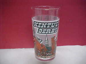 1980 Kentucky derby glass  Mint condition