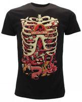 T-shirt Originale Rick and Morty maglia ufficiale Nera Anatomy Park  novità