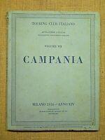 TOURING CLUB ITALIANO MILANO 1936 - VOLUMI VII E VIII PRIMA EDIZIONE E LIMITATA