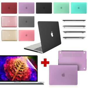 For Apple MacBook Pro 13'' 2016/2018/2020-Rubberized Case Cover+Screen Protector