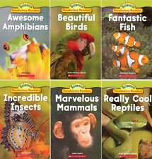SCIENCE VOCABULARY READERS Guided Reading Level J and K ANIMAL GROUPS 6-Book Set
