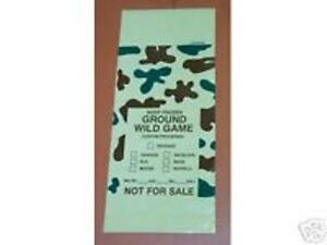 2 POUND CAMO MEAT BAGS..........BUNDLE OF 25