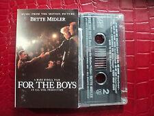 BETTE MIDLER SOUNDTRACK CASSETTE TAPE FOR THE BOYS 1991