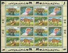 Timbres Animaux Nations Unies New York F 720/3 ** année 1997 lot 4166