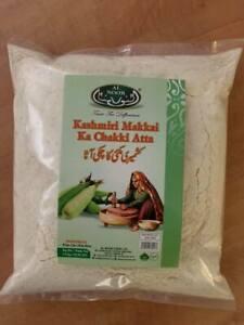Kashmiri Makkai Chakki Atta White Corn Maiz Flour  Alnoor 1.5kg