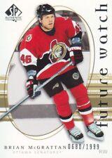 2005-06 SP Authentic Hockey #236 Brian McGrattan RC 0680/1999 Senators