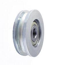 Seilrolle Ø 54 mm fur Seil Metallrolle Profil Rollen KUGELLAGER *CM54