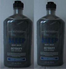 Bath & Body Works 2 Limited Edition Black Chamomile Detoxify Body Wash Rare Find