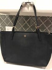 Tory Burch Large York Buckle Tote - Blue Saffiano Leather (MSRP $295)