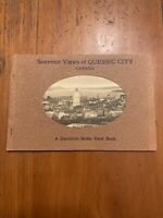 1930's Souvenir Views of Quebec City Canada A Dominion Series View Book