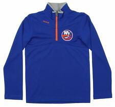 Reebok NHL Youth New York Islanders Center Ice 1/4 Zip Up Sweater