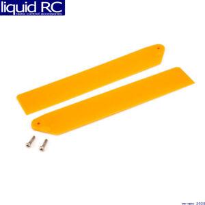 Blade Helis 3610OR Hi-Performance Main Rotor Blade Set Orange: mCP X