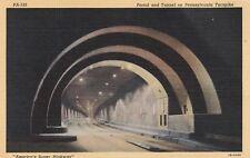 "*Pennsylvania Postcard-""Portal & Tunnel on Turnpike"" (U1-PA15)"