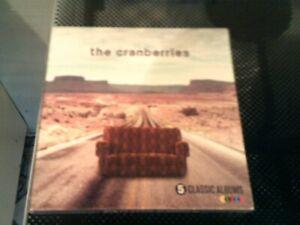 THE CRANBERRIES - 5 CLASSIC ALBUMS      5 x CD Album Set   (2016)