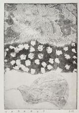 nabARus 310816-5 -Eau Forte Gravure -Etching - Outsider Art Singulier 13x18 cm