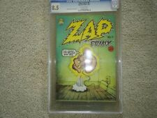 STC ZAP #0 (1 st PRINTING) CGC GRADED 8.5 UNDERGROUND COMIX 1968 Comic Book