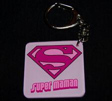 Porte-clés SUPER MAMAN (modele 2) a offrir pour la fete des mères