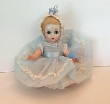 VINTAGE MADAME ALEXANDER LITTLE GENIUS DOLL ORIG BLUE DRESS OUTFIT 8""