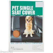 Finelife Pet Products Pet Single Seat Cover Waterproof Light Brown NIP