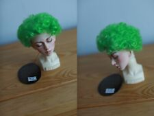 Monique curly clown wig for bjd doll 7-8'' size green sd msd