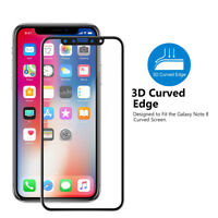 Premium Ultra 3D Full Edge Tempered Glass Screen Protector For iPhone X