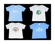 NEW Boys Organic Cotton T-shirts (pack of 4) size 6M, 9M, 12M, 18M, 2T, 3T, 4T