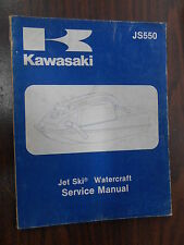 Kawasaki OEM 82-83 JS550 Jet Ski Factory Watercraft Service Manual 99963-0051-0