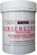 Dr. Sachers Ginsengcreme mit Sanddornöl & Vitamin E