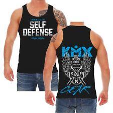 Träger Muskel Shirt Krav Maga Self Defense Kampfsport Kick Boxen Mixed Material