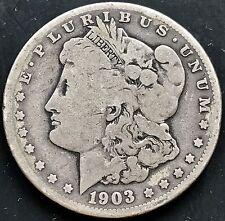 USA 1903 S Morgan Dollar San Francisco Silber Sehr Selten RARE 4365