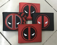 Men's Wallet Deadpool Cartoon Short Wallet Women ID Card Coin Purse Wallet Gift