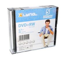 5 Xlyne Rohlinge DVD+RW 4,7GB 4x Slimcase SONDERPOSTEN
