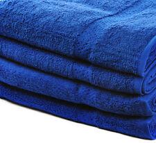x6 100% COTTON HAND TOWELS LUXURY 450 GSM JOB LOT - Royal Blue