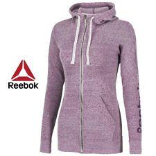 Reebok Crossfit Womens Elements Full Zip Hoodie Hooded Sweatshirt Post M