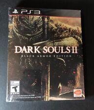 Dark Souls II Black Armor Edition  [ STEELBOOK Package ] (PS3) NEW