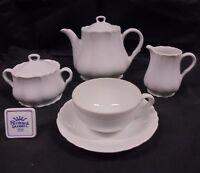 Servicio de The Richard Ginori Blanco Estilo 800 para 12 Personas Tea Set