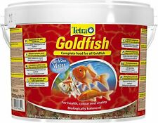 Tetra Goldfish, 10 L, Perfect Matched Flake Food For Goldfische. Vie