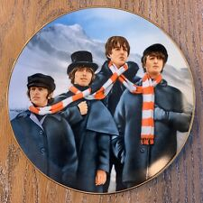 """New Other """"Help� 1528 C Collectable The Beatles Plate Delphi Numbered 7430 B"""