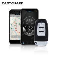 EASYAGUARD GPS tracker PKE car alarm system Push Button remote start APP control